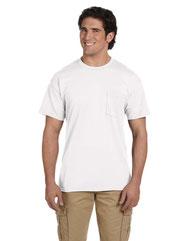 Gildan Adult 5.5 oz., 50/50 Pocket T-Shirt G830