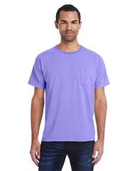 ComfortWash by Hanes Unisex 5.5 oz., 100% Ringspun Cotton Garment-Dyed T-Shirt with Pocket GDH150
