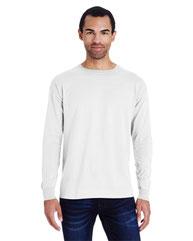 ComfortWash by Hanes Unisex 5.5 oz., 100% Ringspun Cotton Garment-Dyed Long-Sleeve T-Shirt GDH200