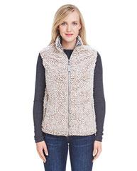 J America Ladies' Epic Sherpa Vest JA8456