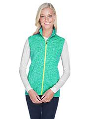 J America Ladies' Lasic Cosmic Fleece Vest JA8625