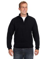J America Adult Heavyweight Fleece Quarter-Zip JA8634