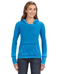 J America Ladies' Zen Pullover Fleece Hood JA8912