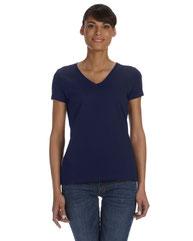 Fruit of the Loom Ladies' 5 oz. HD Cotton™ V-Neck T-Shirt L39VR