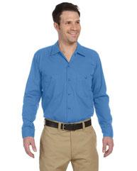 Dickies Men's 4.25 oz. Industrial Long-Sleeve Work Shirt LL535