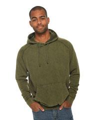 Lane Seven Unisex Vintage Raglan Hooded Sweatshirt LST004