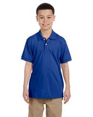 Harriton Youth 5.6 oz. Easy Blend™ Polo M265Y