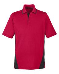 Harriton Men's Tall Flash Snag Protection Plus IL Colorblock Polo M386T