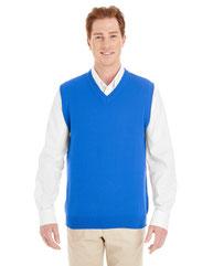 Harriton Men's Pilbloc™ V-Neck Sweater Vest M415