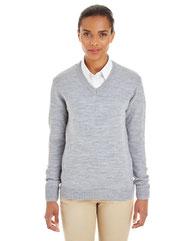Harriton Ladies' Pilbloc™ V-Neck Sweater M420W