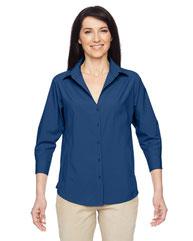 Harriton Ladies' Paradise 3/4-Sleeve Performance Shirt M610W
