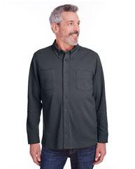 Harriton Adult StainBloc™ Pique Fleece Shirt-Jacket M708