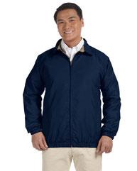 Harriton Adult Microfiber Club Jacket M710