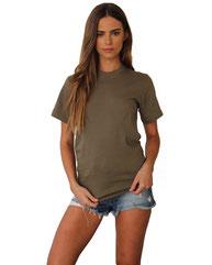 Next Level Unisex Ideal Heavyweight Cotton Crewneck T-Shirt N1800