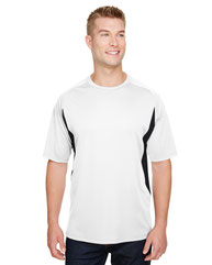 A4 Men's Cooling Performance Color Blocked T-Shirt