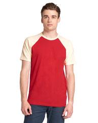 Next Level Unisex Raglan Short-Sleeve T-Shirt N3650