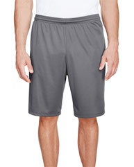 """A4 Men's 9"""" Inseam Pocketed Performance Shorts"""