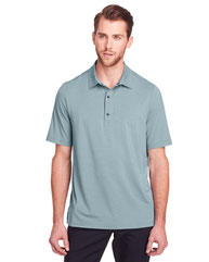 North End Men's Jaq Snap-Up Stretch Performance Polo NE100