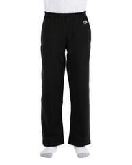 Champion Youth 9 oz. Double Dry Eco® Open-Bottom Fleece Pant P890