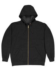 Berne Unisex Iceberg Hooded Full-Zip Sweatshirt