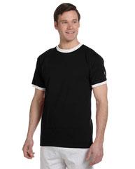 Champion Adult 5.2 oz. Ringer T-Shirt T1396
