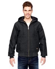 Dickies Men's 10 oz. Hooded Duck Jacket TJ718