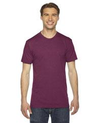 American Apparel Unisex Triblend USA Made Short-Sleeve Track T-Shirt TR401