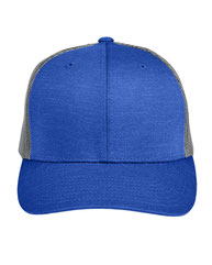 Team 365 by Yupoong® Adult Zone Sonic Heather Trucker Cap