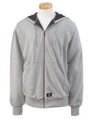 Dickies Men's 470 Gram Thermal-Lined Full-Zip Hooded Fleece TW382