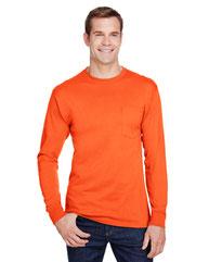 Hanes Adult Workwear Long-Sleeve Pocket T-Shirt W120
