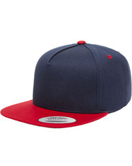Yupoong Adult 5-Panel Cotton Twill Snapback Cap Y6007