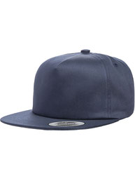 Yupoong Adult Unstructured 5-Panel Snapback Cap Y6502