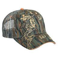 Camouflage Cotton Twill Sandwich Visor Low Profile Pro Style Mesh Back Caps