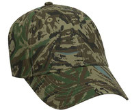 Youth Camouflage Cotton Twill Low Profile Pro Style Caps