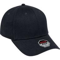 """Otto Flex"" Stretchable Brushed Bull Denim Low Profile Style Caps (S/M) (L/XL)"