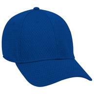 """Otto Flex"" Stretchable Polyester Pro Mesh Low Profile Style Caps (S/M) (L/XL)"
