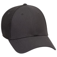 """""""Otto Flex"""" Cotton Twill with Stretchable Polyester Air Mesh Back Low Profile Style Caps (S/M) (L/XL)"""