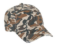 OTTO CAP Camouflage Youth 6 Panel Low Profile Baseball Cap