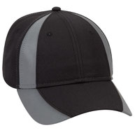 Reflective Piping Design Neon Deluxe Polyester Twill Low Profile Pro Style Caps