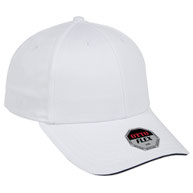 "Stretchable Superior Cotton Twill Sandwich Visor ""OTTO FLEX"" Six Panel Low Profile Baseball Cap"