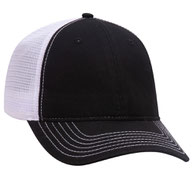 Superior Garment Washed Cotton Twill Low Profile Pro Style Mesh Back Caps