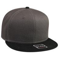 Superior Cotton Twill Flat Visor Snapback Pro Style Caps