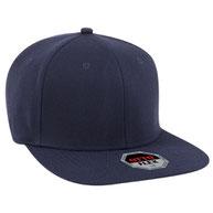 """Otto Flex"" Stretchable Wool Blend Square Flat Visor Pro Style Caps  (S/M) (L/XL)"