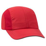 Textured Polyester Pongee Running Cap