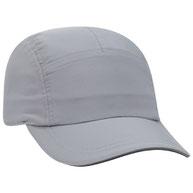 Polyester Pongee Running Cap w/ Reflective Sandwich Visor