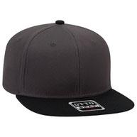 Superior Cotton Twill Square Flat Visor Pro Style Snapback Caps