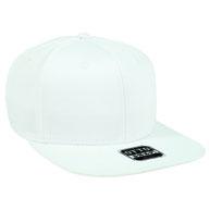 Superior Thick Combed Cotton Square Flat Visor Pro Style Snapback Cap