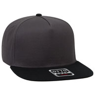 Cotton Twill Square Flat Visor Pro Style Snapback Caps