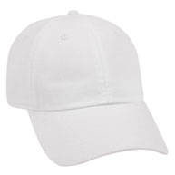 Garment Washed Superior Combed Cotton Low Profile Pre-Curved Visor Cap
