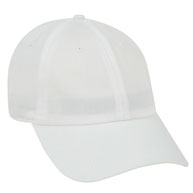 Garment Washed Cotton Twill Low Profile Pre-Curved Visor Cap